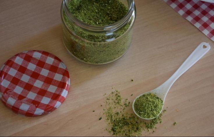 Σκόνης πράσινης πιπεριάς