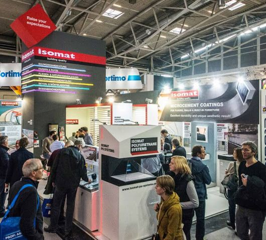 ISOMAT successfully participated for the second time in BAU 2017, the World's Leading Trade Fair for Architecture, Materials and Systems, which took place at the Messe München exhibition center, in Munich, Germany, from the 16th until the 21st of January, 2017.