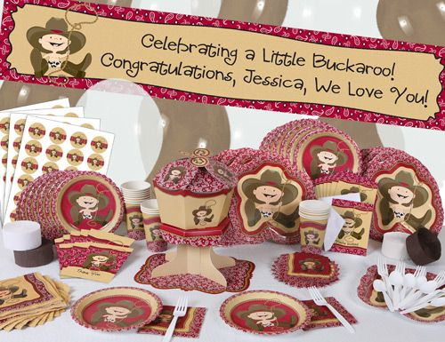 Cowboy Baby Shower Decoration Ideas | In Your Theme Very Easily Is To Order  Pre