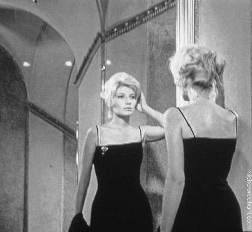 """Monica Vitti in Michelangelo Antonioni (dir.) """"L'avventura,"""" 1960"""