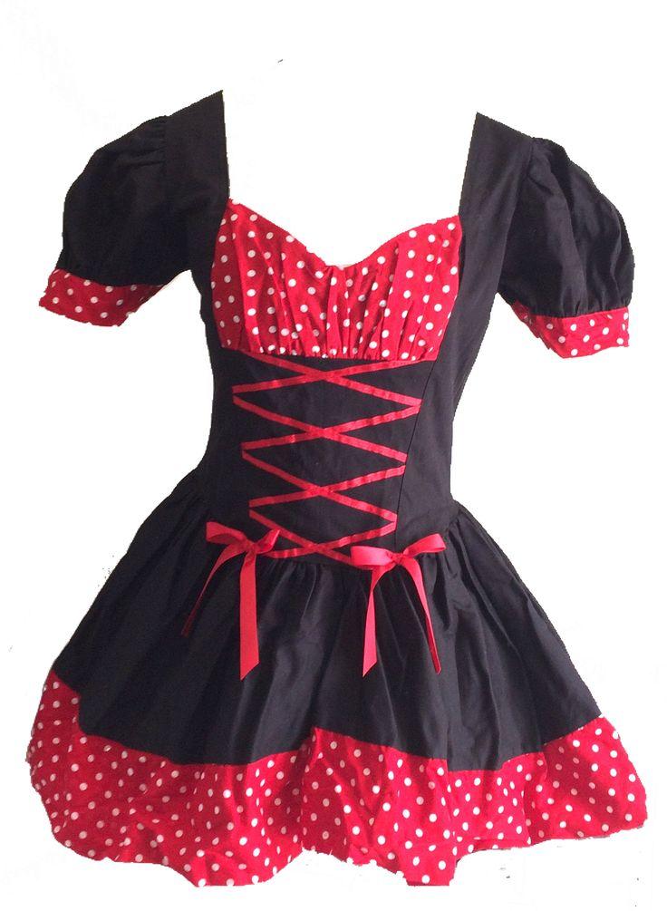 Vestito burlesque. Vendo a € 50. Taglia S mai usato