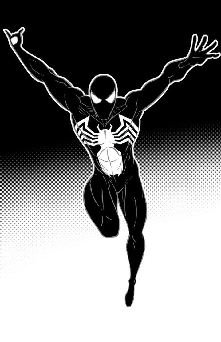 Spiderman Black Suit by Thuddleston on deviantART