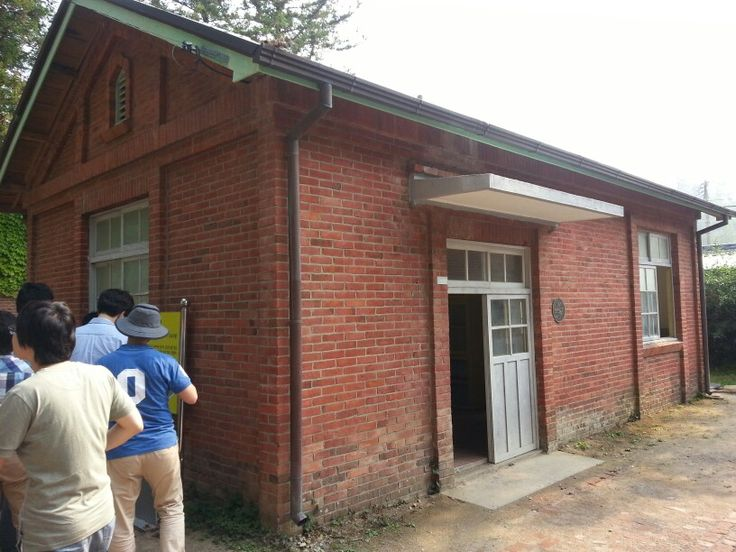 Auptosy hall for dead lepers during the Japanese colonial period