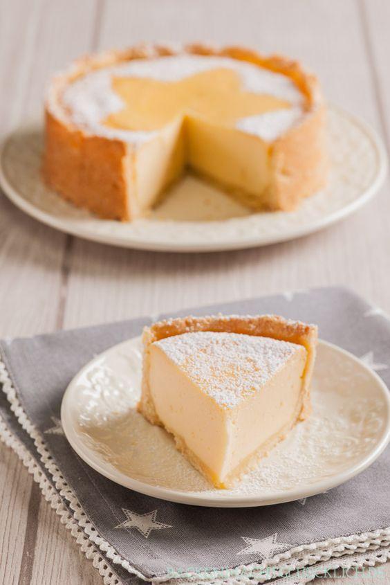 Der beste Käsekuchen, der garantiert nicht einfällt | http://www.backenmachtgluecklich.de