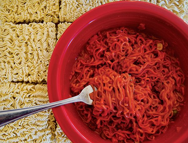 how to make takis noodles