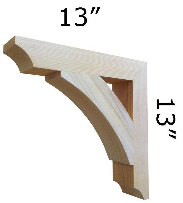 446 best craftsman style images on pinterest artesanato for Craftsman style brackets