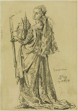 Svatava Polská, manželka krále Vratislava II.