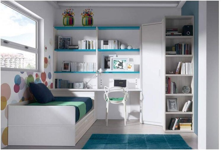 Dormitorio juvenil youth bedroom muebles furniture - Dormitorio juvenil malaga ...