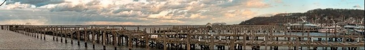 Atlantic Highlands Marina - After SuperStorm Sandy. Photo by Brian Richards.