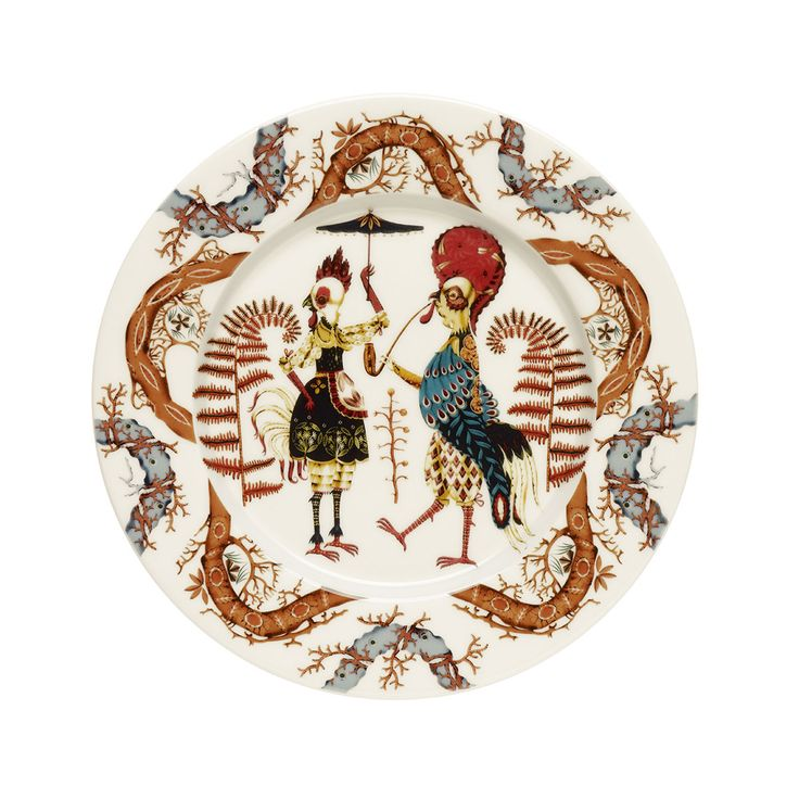 Don't just set the table; tell a tale.  Klaus Haapaniemi, the artist who brought us iittala Taika (Magic), now invites us into the whimsical world of Tanssi (Dance). Inspired by the birth of opera, the