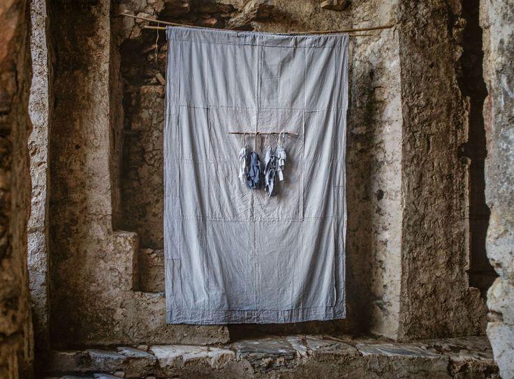 irini gonou, the blue procession, naxos, greece