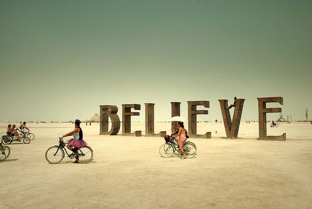 Burning Man. One day I will experience this.