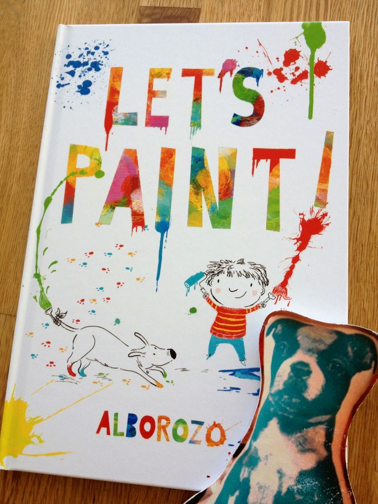 Lets Paint - A beautiful picture book by Gabriel Alborozo