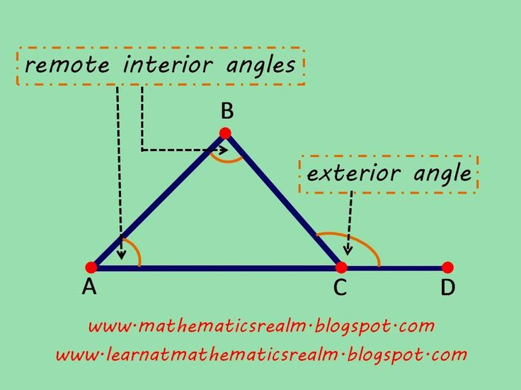17 Best Ideas About Exterior Angles On Pinterest Interior And Exterior Angles Angle Names And