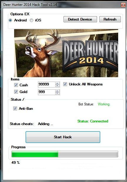 Deer Hunter 2014 Cheats