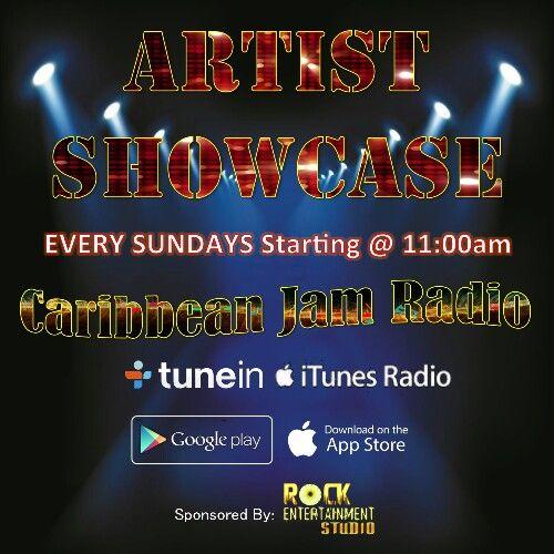 Artist Showcase - Every Sundays at 1pm on CJR.