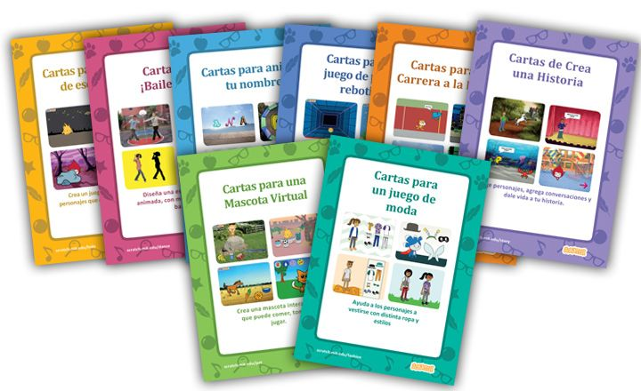 Cartas de Scratch para usar en el aula – Asociación Civil Chicos.net