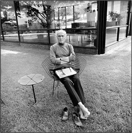 Philip Johnson - Modern Architect. USA