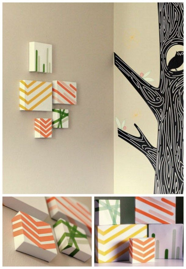 26 best images about masking tape wall art on pinterest sprays washi tape and color 2. Black Bedroom Furniture Sets. Home Design Ideas