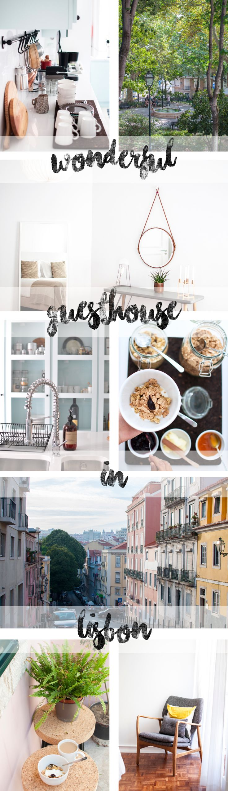 Lisbon Hipster & Coffee Guide - our beautiful Guesthouse the Casa C'Alma near Praça das Flores