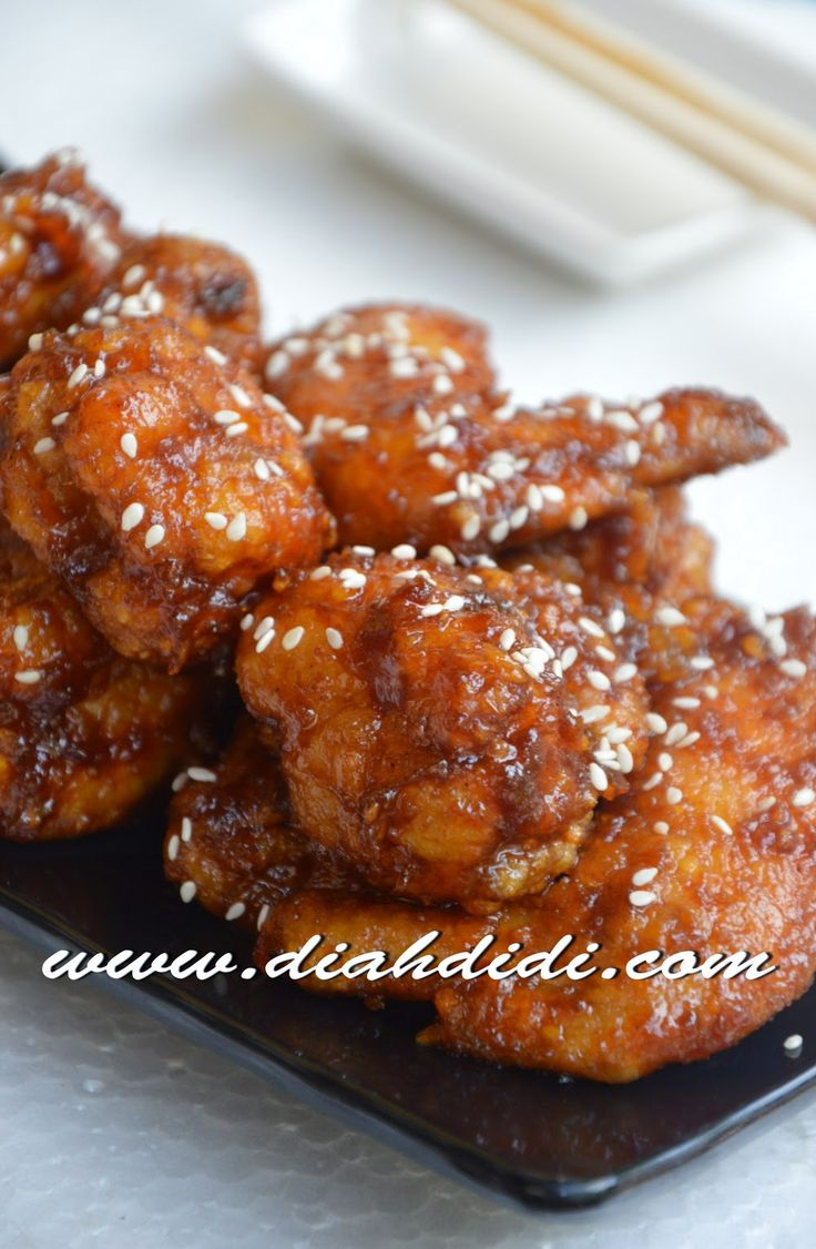 Diah Didi's Kitchen: Sweet and Spicy TongDak ( Korean Spicy Chicken )