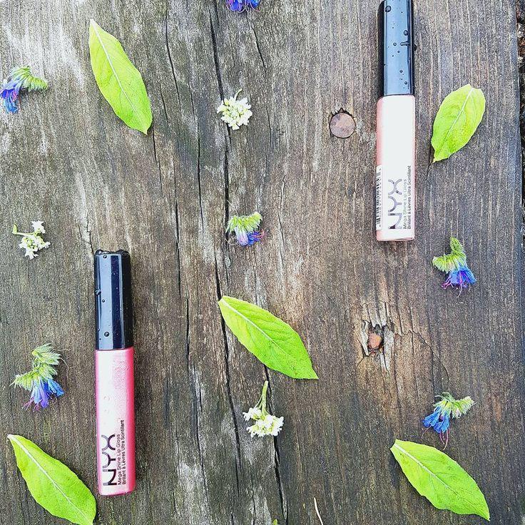 """Бюджетные блески #nyx. Вот даже не щнаю, что можно сказать про блеск. Нормальный блеск за нормальные деньги без """"вау"""" эффекта.  #nyxlip, #lipgloss, #makeup, #lips, #никс, #cosmetic, #блескдлягуб, #макияж, #косметиканикс, #косметика, #красота http://ameritrustshield.com/ipost/1548447805365626435/?code=BV9MRMwDSZD"""