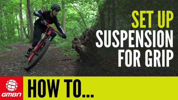 How To Set Up Mountain Bike Suspension For Maximum Traction - VIDEO - http://mountain-bike-review.net/mountain-bike-reviews/how-to-set-up-mountain-bike-suspension-for-maximum-traction-video/ #mountainbike #mountain biking