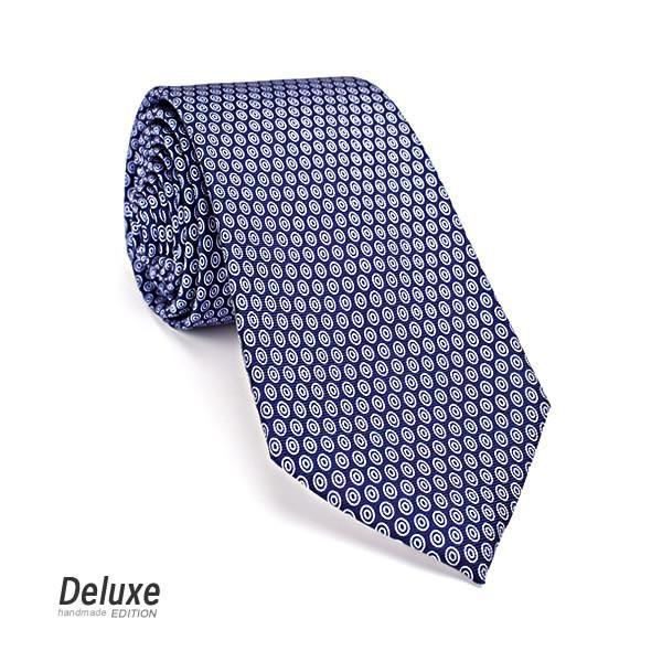 Italian Silk Tie in Navy