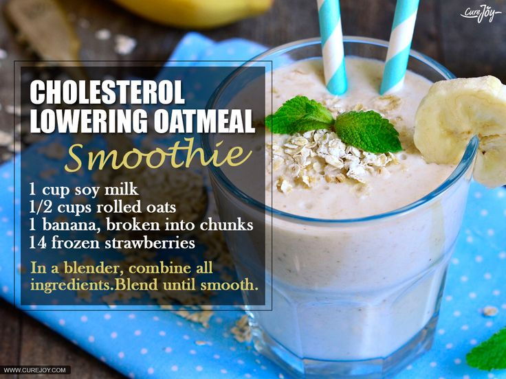 Cholesterol-Lowering--oatmeal-Smoothie
