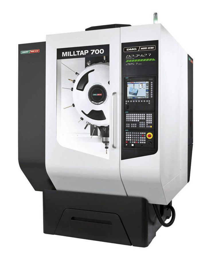 A new drill tap machine offered by DMG Mori Seiki. We have a similar Haas machine . . . would love to see what this could do.