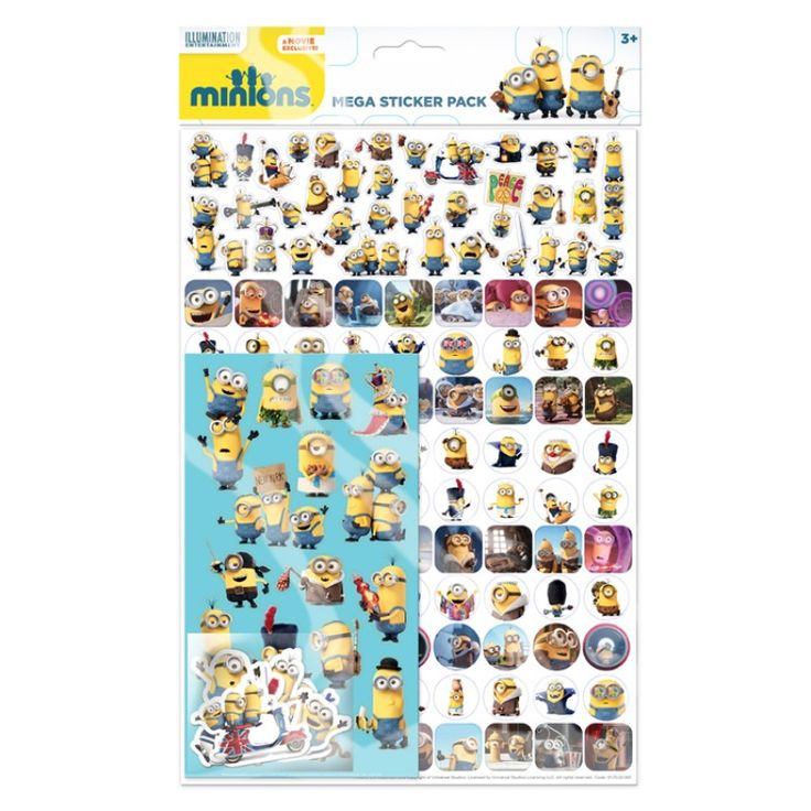 Minions stickers mega ark