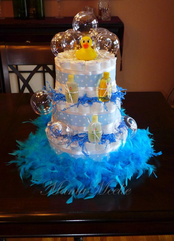 Hey, I found this really awesome Etsy listing at https://www.etsy.com/listing/184481117/rubber-ducky-bubble-bath-diaper-cake