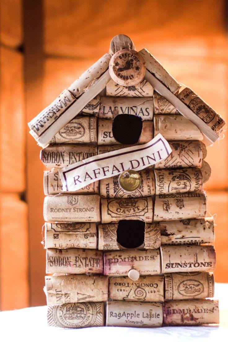 26 best images about wine cork projects on pinterest Wine cork birdhouse instructions