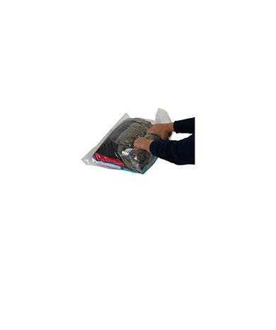 Saco a Vácuo Manual para Compactar Roupas - Grande