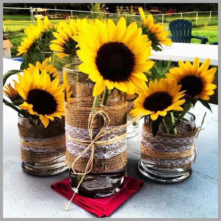 Sunflower Baby Shower Decorations Sunflower party