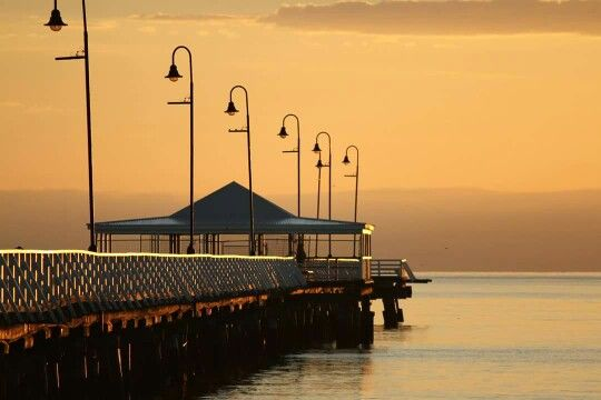 The original Shorncliffe Pier. I hope they build the new one to honour the original.
