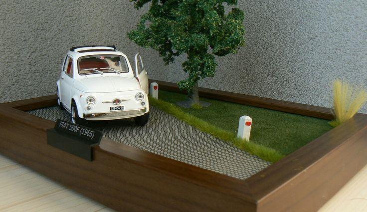 Diorama Fiat 500
