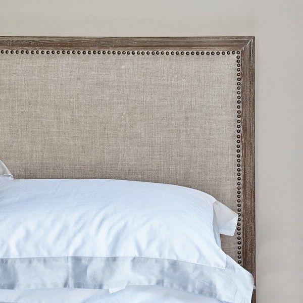 Boston Bed Super King Size Natural Linen Brissi Top Beds Super King Size Bed Bed