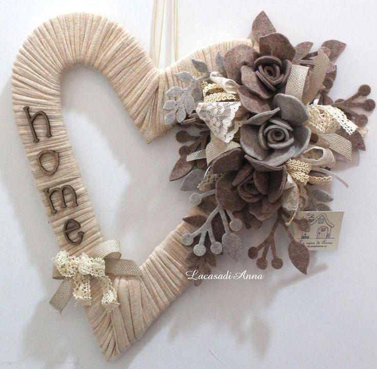 Oltre 1000 idee su decorazioni fai da te su pinterest - Decorazioni in legno per natale ...
