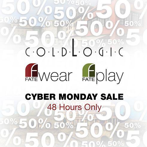 coldLogic, FATEwear & FATEplay  48hr Sale!