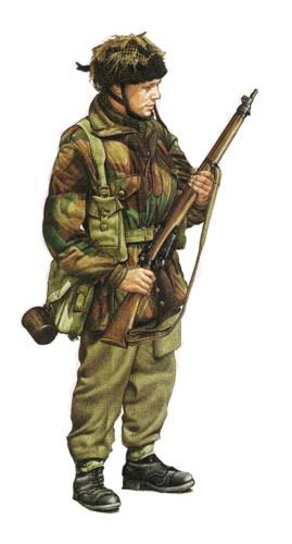 British paratrooper 1st Airborne division Arnhem 1944 - pin by Paolo Marzioli