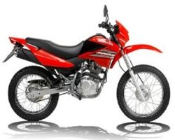 This bike is Hero Impulse, India's Ist On-Off Road Bike manufactured by Hero Motocorp motors in India.
