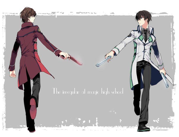 The Irregular at Magic High School - Tatsuya and Misaki