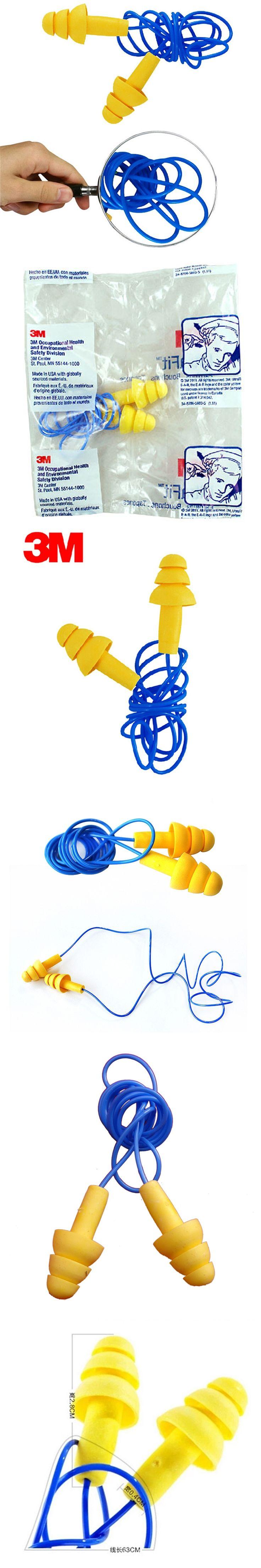 5pcs 3M340-4004 Authentic Foam Soft  Silicone EarPlugs Noise Reduction christmas tree Earplugs  Swimming Protective earmuffs