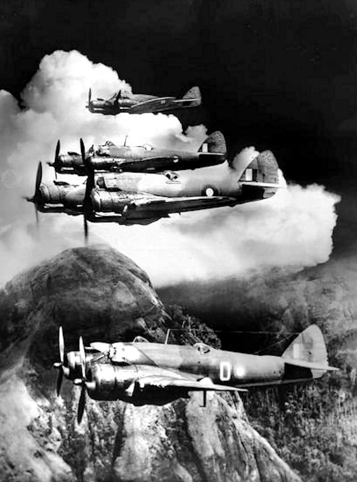 Beaufighters in Asia