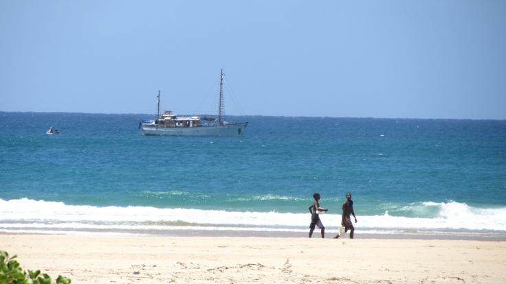 Angra Pequena off Ponto Barra, Mozambique, 2012