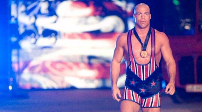 Kurt Angle may be back on WWE programming as the General Manager of Raw. However, the WWE Universe is still wondering if he'll wrestle again.