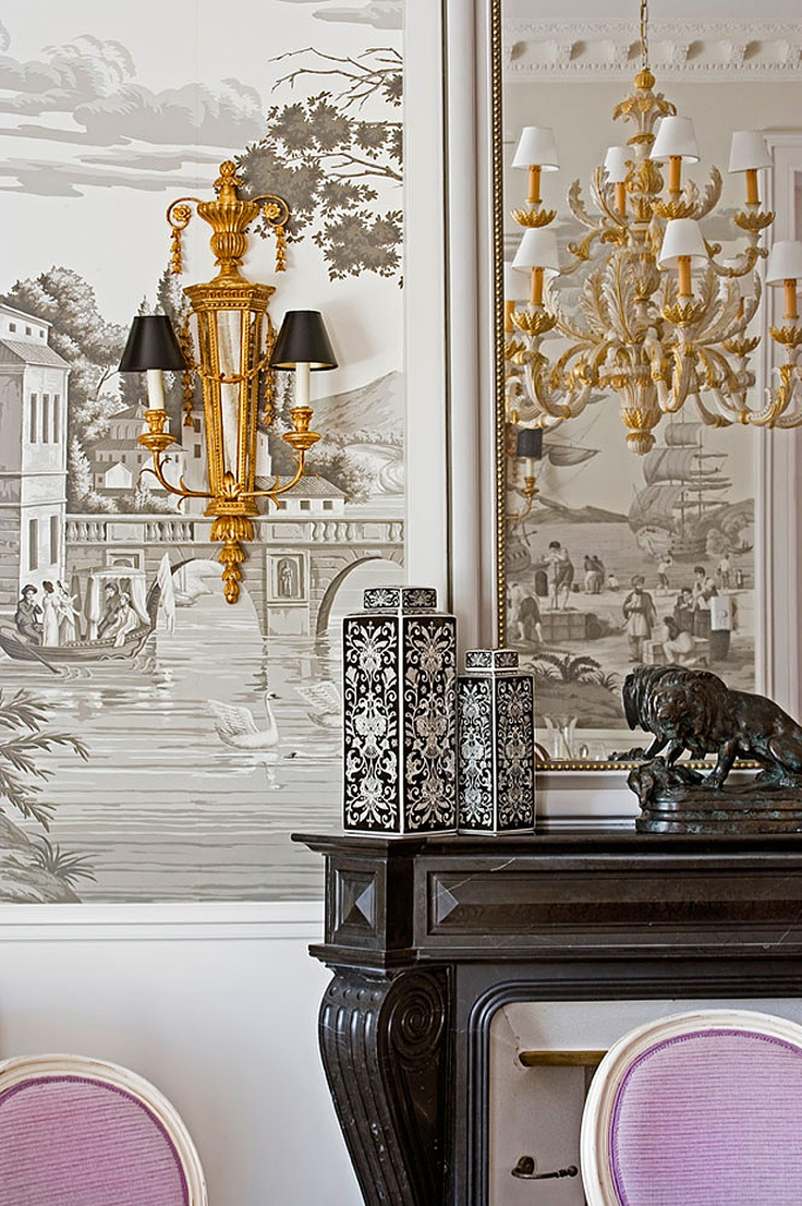 25 best images about grisaille on pinterest - Grisaille wallpaper ...