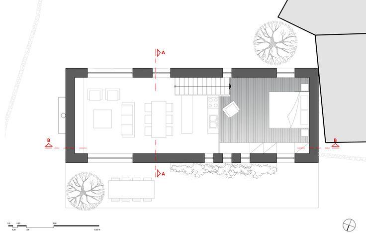 project_Small mountain house in Messinia | phase_Proposal | title_Plan | pin architecture_Petroula Sepeta◦Ioanna Chamilou◦Natasa Markopoulou | year_2008