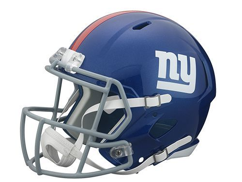 New York Giants Deluxe Replica Speed Helmet